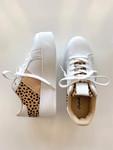 Cheetah Platform Tennis Shoes