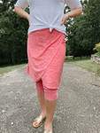 Space Dye Wrapped Athletic Skirt *Coral*