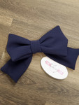 Bow Accessory in Navy