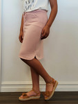 Traveling Skirt in Blush *Final Sale*
