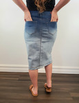 Faded Perfection Denim Skirt