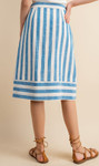 Feeling Confident Striped Skirt