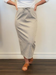 Klassy Girl Sport Skirt Heather Grey