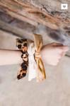 Bow Velvet Hair Scrunchie