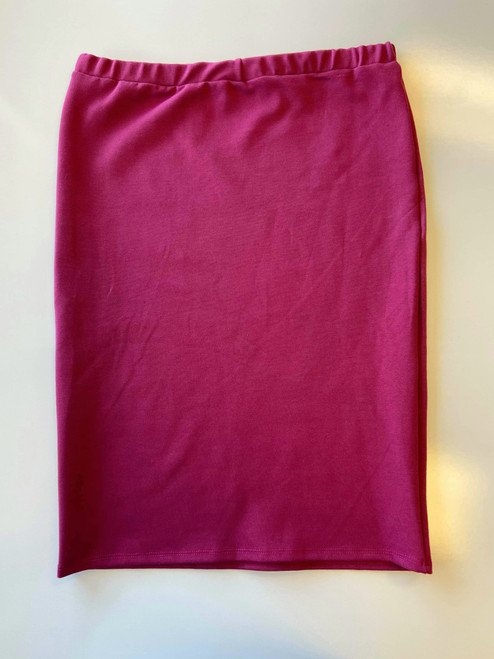 Klassy Girl Original Pencil Skirt Berry *Final Sale*