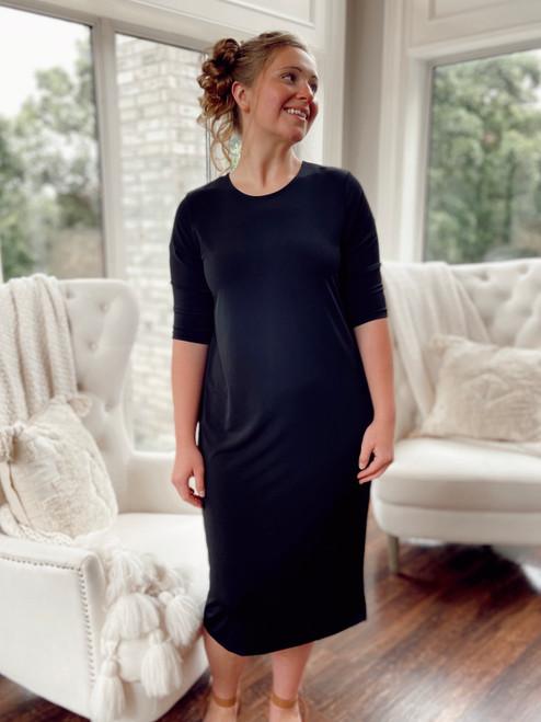 The Layering Dress *Black*