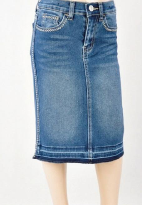 Sadie Denim Skirt Indigo Wash *Girls*