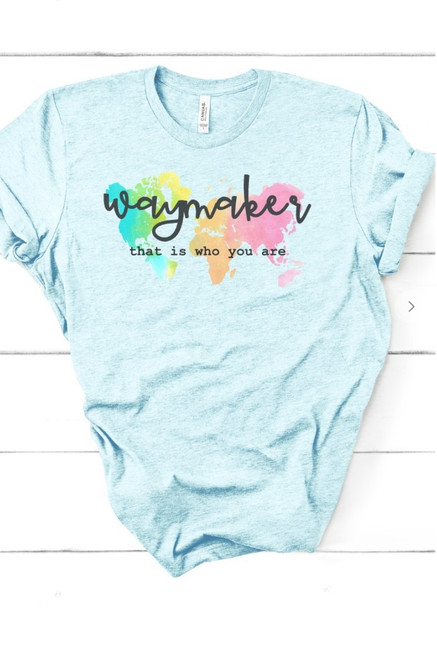 Waymaker That is Who You Are Graphic Tee