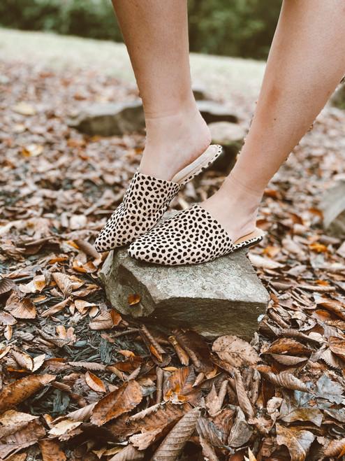 Perfect Cheetah Mules Shoes Slides