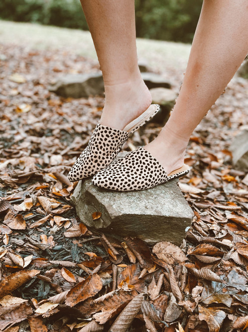 Perfect Cheetah Mules Shoes Slides