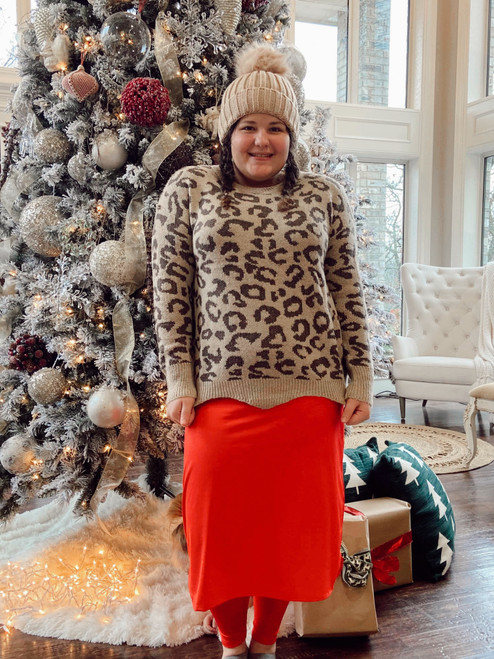 Best Dressed Leopard Sweater *Final Sale*