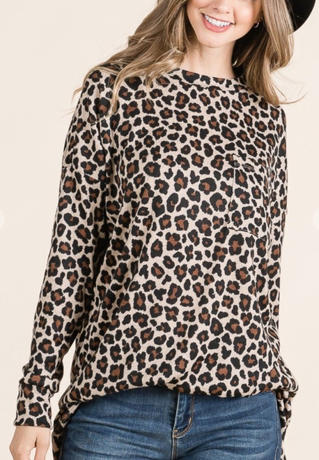 Leopard Tunic Top *Final Sale*