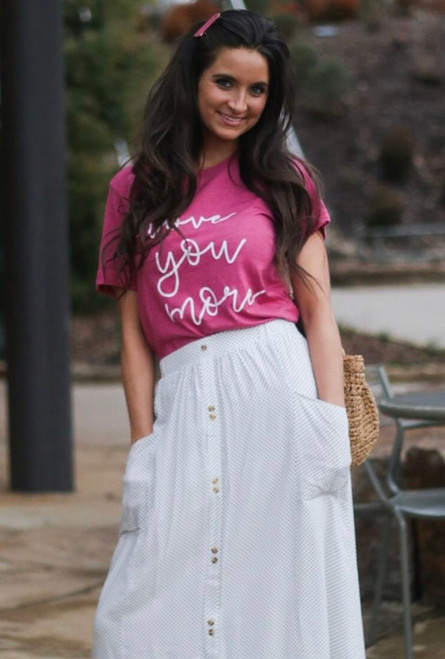 Love You More Graphic Tee FINAL SALE