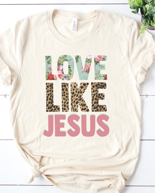 Love Like Jesus Graphic Tee