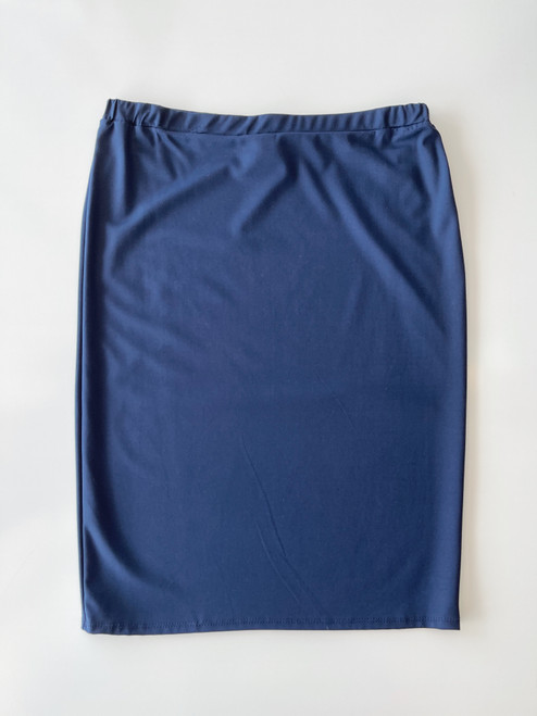 Klassy Girl Original Pencil Skirt *Navy Ponte*