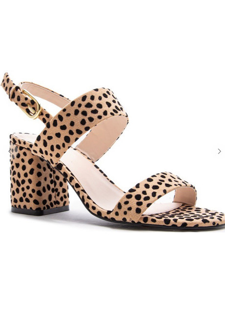 Animal Print Cheetah Heels
