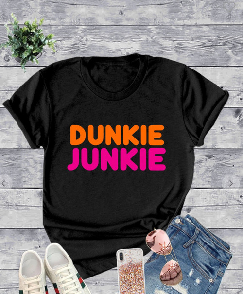 Dunkie Junkie Graphic Tee *Black*