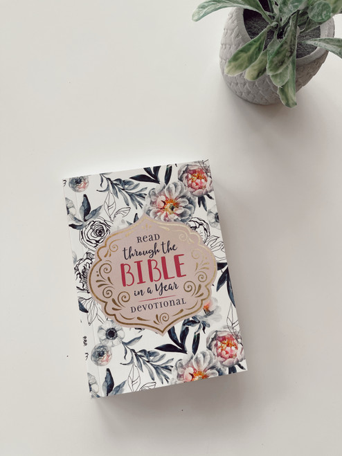 Read The Bible in a Year Small Devotional Book