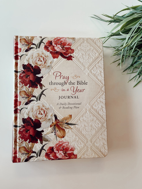 Pray Through The Bible in a Year Journal Daily Devotional & Reading Plan