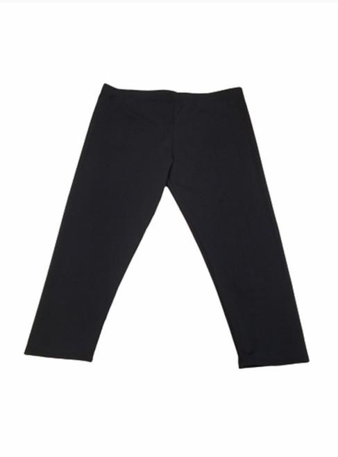 Black Swim Capri Leggings *Womens*