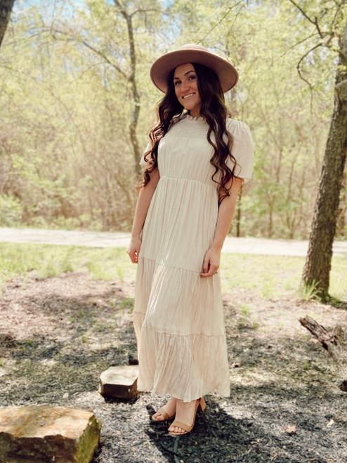 Vintage Boho Feels Dress *Ivory*