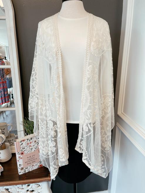 Lace Kimono *Cream*