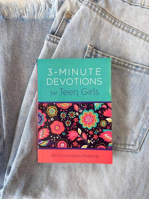 Teen 3 Min Small Devotional Book for Girls