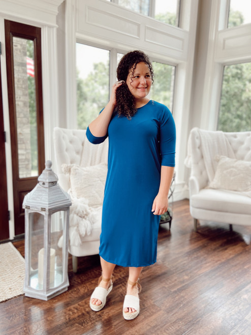 The Layering Dress *Teal*