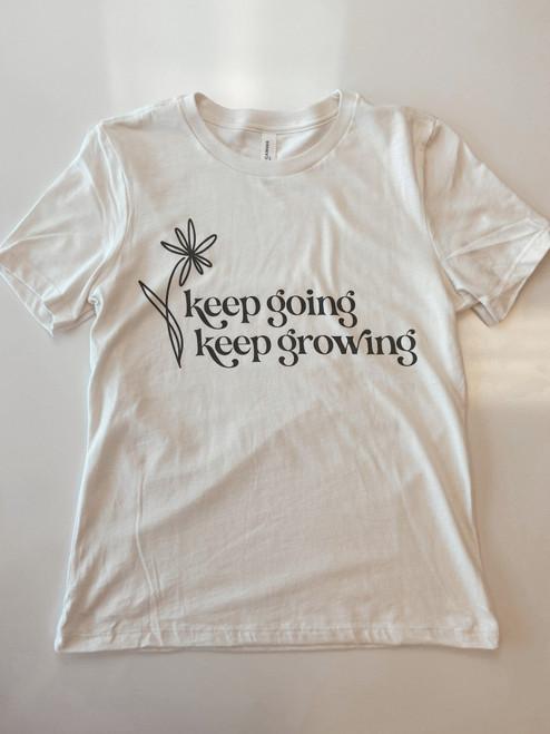 Keep Going Keep Growing Graphic Tee