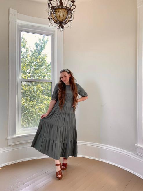 Maddie Maxi Dress *Sage*