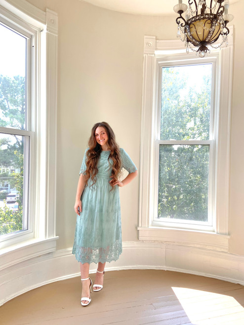 Lasting Impressions Lace Dress