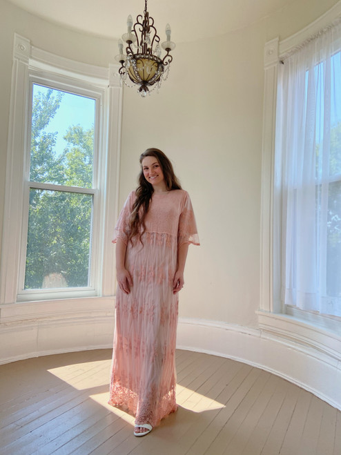 Camila Lace Dress *Blush*
