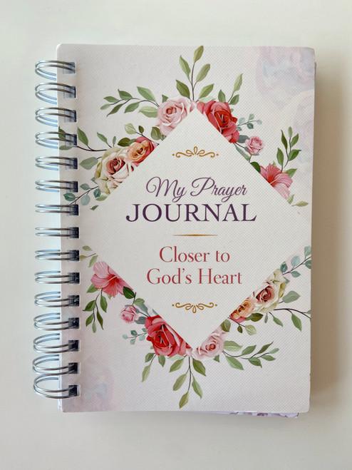 Beautiful Spiral Prayer Journal