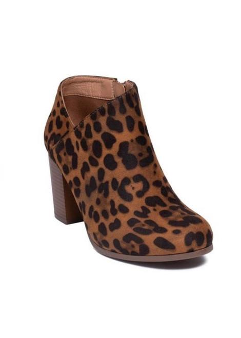 Ladies Ankle Booties *Leopard*