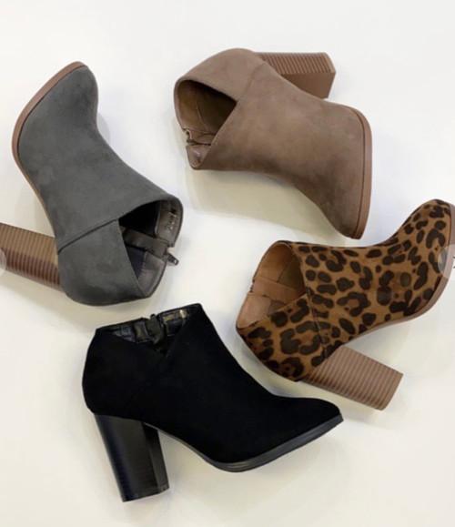 Ladies Ankle Booties *Gray*