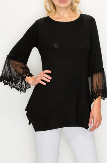 Lace Layering Top *Black*