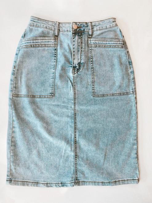 Rylee Denim Skirt *Juniors Fit*