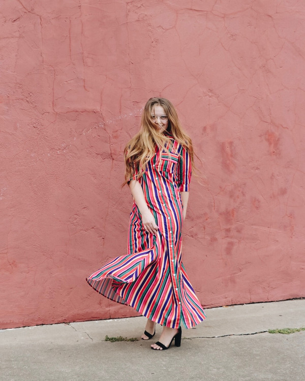 Be The Sunshine Multi Stripe Dress *Final Sale*