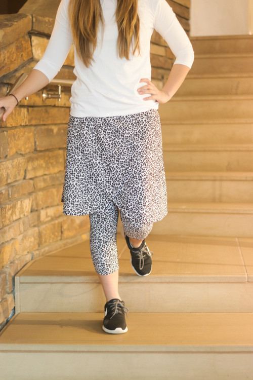 Wrapped Athletic Skirt * Animal Print* FINAL SALE