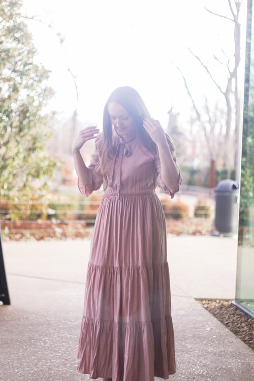 All These Feelings Dress in Blush