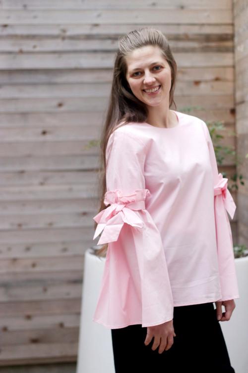 Bella Top in Pink