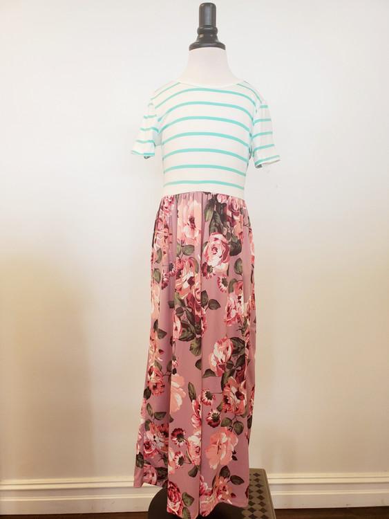 Garden Of Wishes Maxi Dress Mauve *Girls*