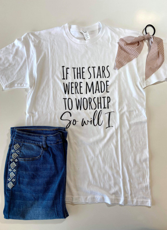 If The Stars Were Made to Worship Graphic Tee