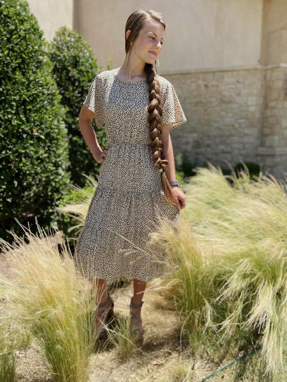Mixed Feelings Cheetah Print Dress