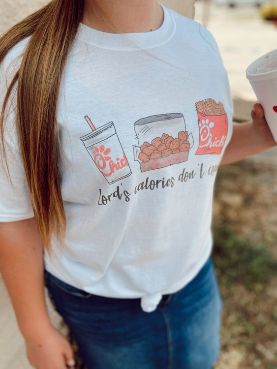 Lord's Calories Don't Count Graphic Tee