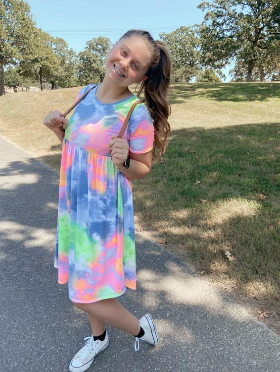 Miss Personality Tie Dye Dress
