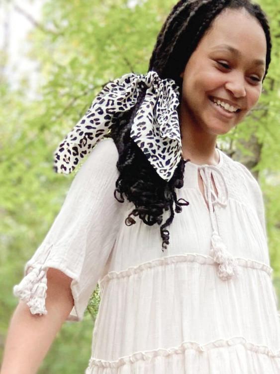Leopard Hair Scrunchie Tie