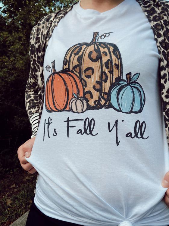 It's Fall Ya'll Graphic Tee