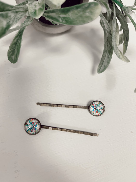 Antique Hair Pins Butterfly *Set of 2*