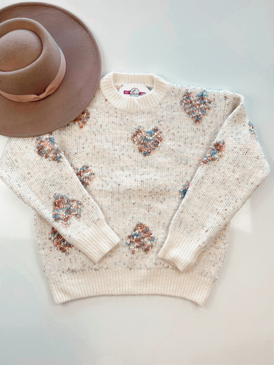 Invincible Heart Sweater Final Sale